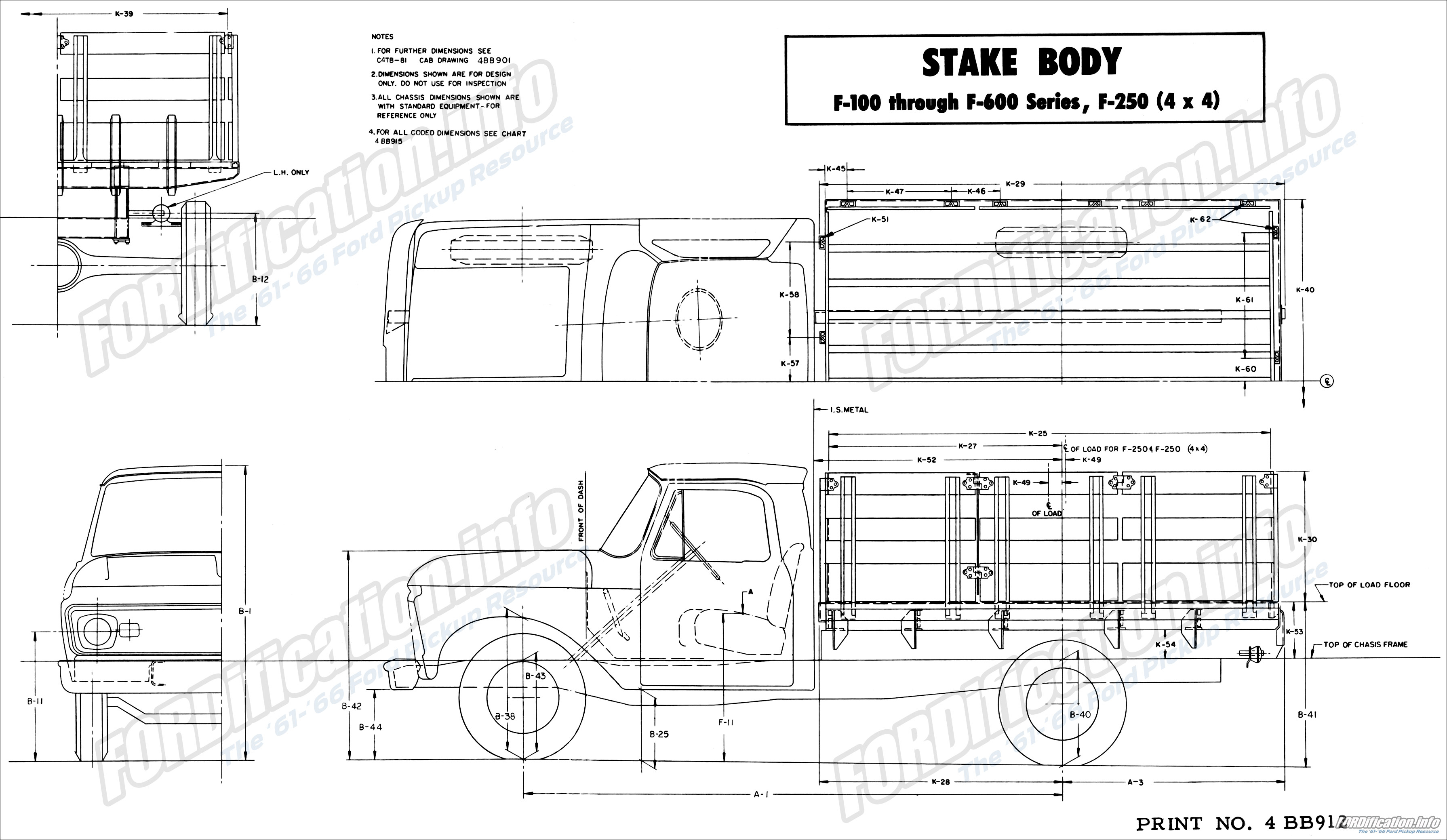 Ford Truck Body Builders Layout Books - FORDification.info - The \'61 ...