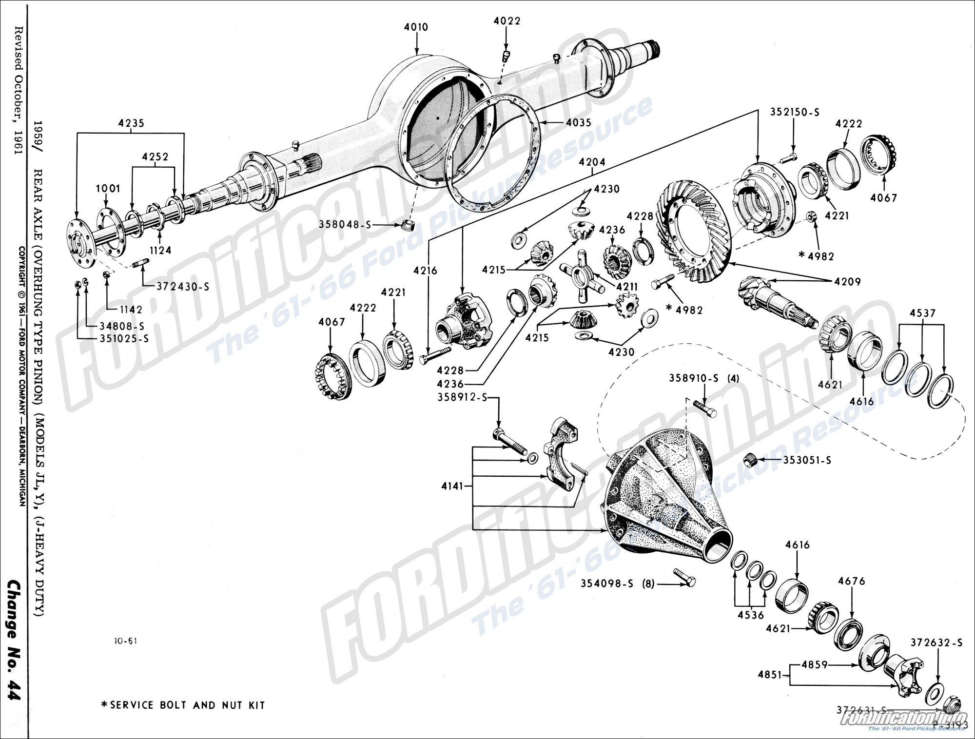 Front Rear Axle Amp Suspension Schematics Fordification
