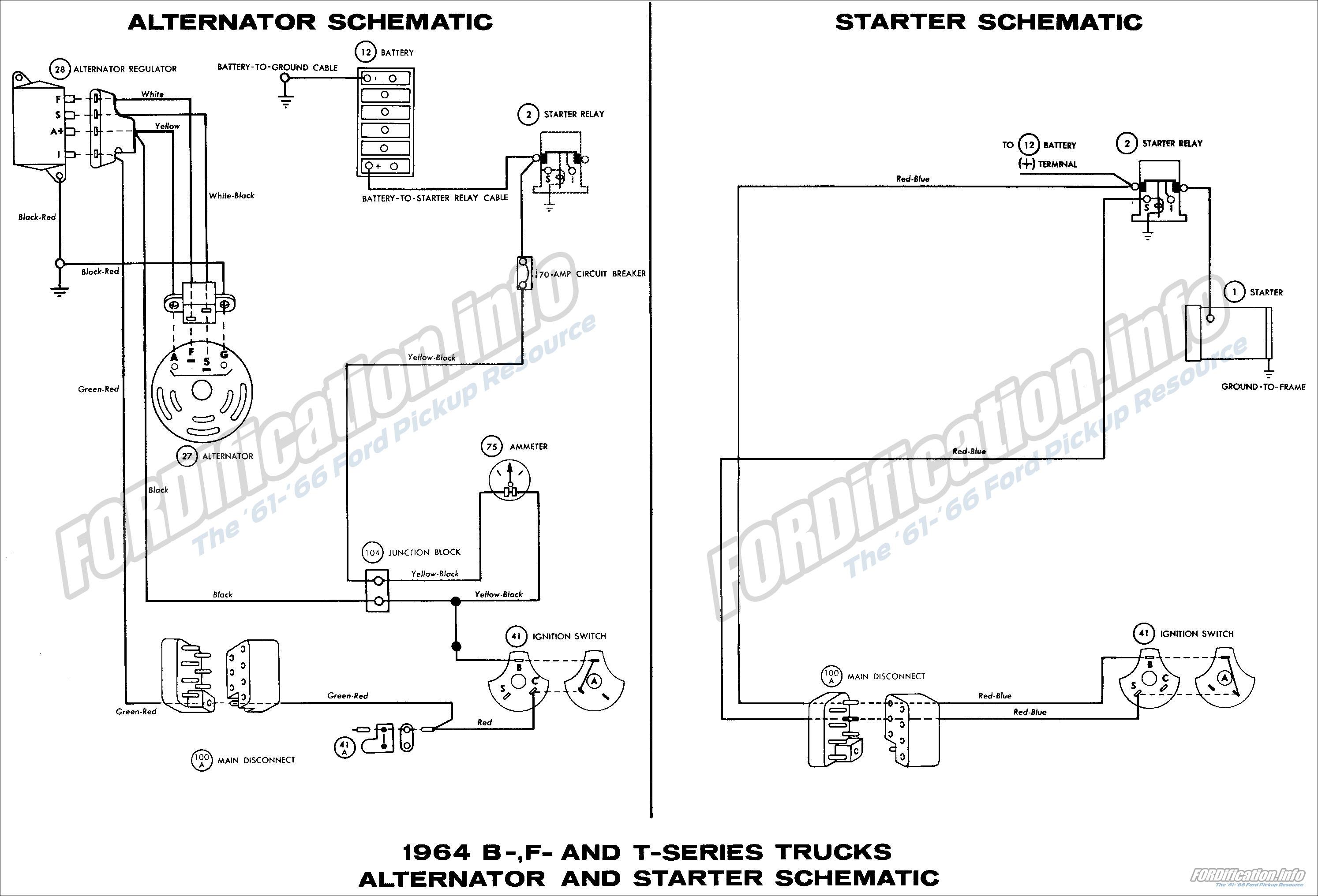 1964 Vw Alternator Wiring Best Secret Diagram Ford Truck Auto Hook Up