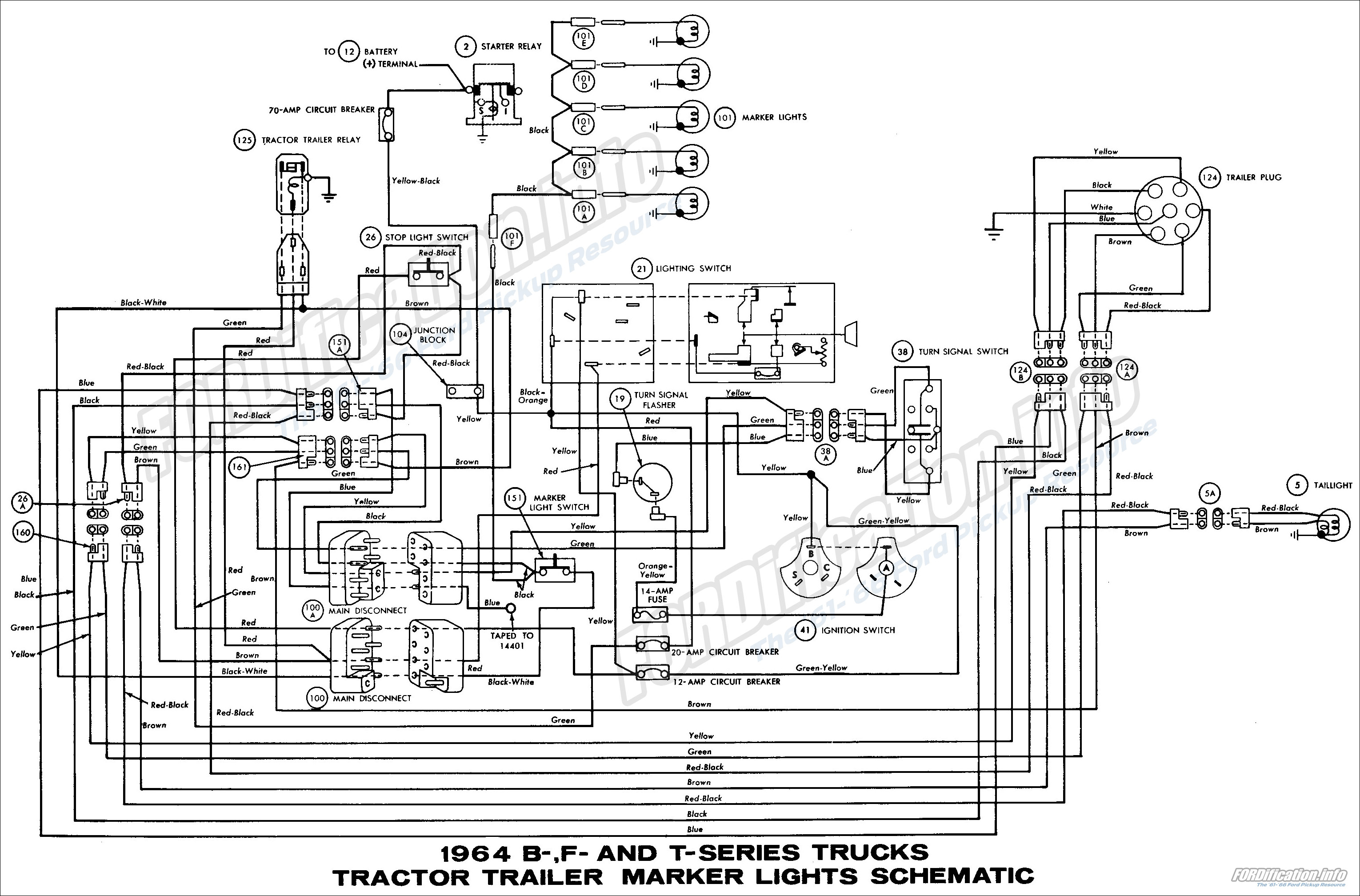 wiring diagram for semi trailer lights  u2013 powerking co