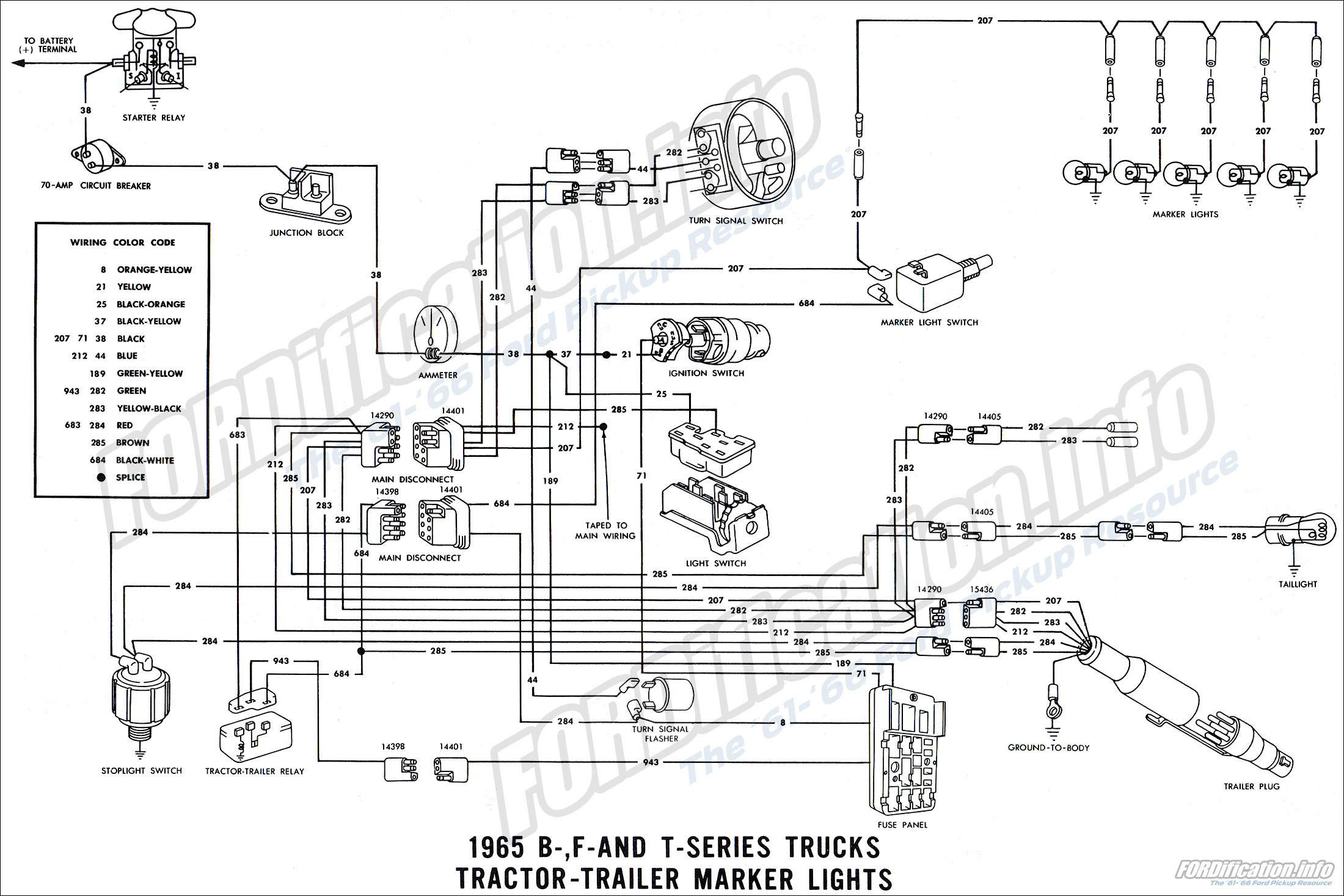 Ford F100 Wiring Diagram Besides Ford F100 Turn Signal Wiring Diagrams