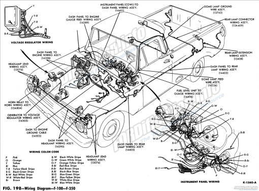 1963 f100-f350 wiring diagram