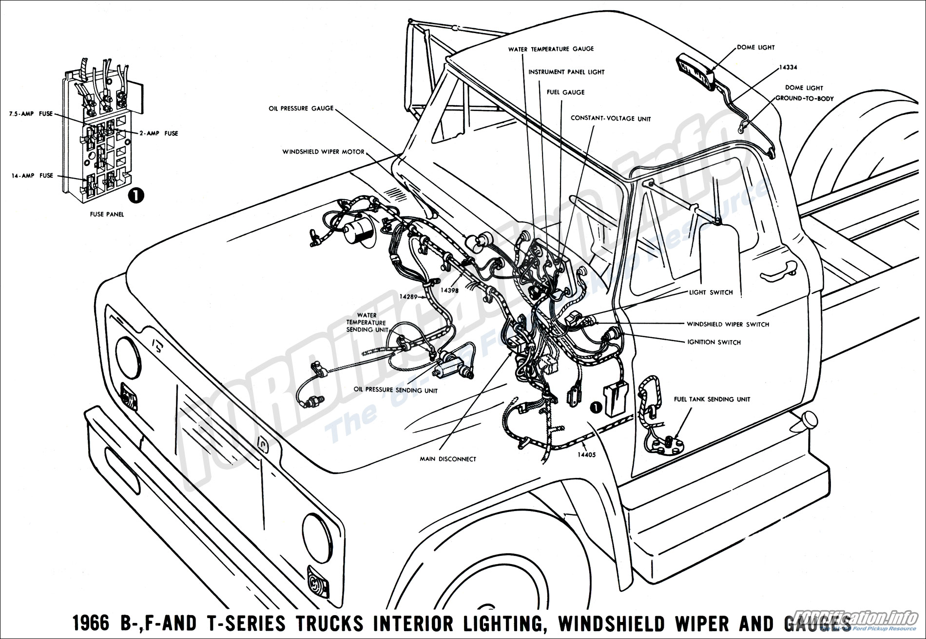 1966 Ford Truck Wiring Diagrams - FORDification.info - The \'61-\'66 ...