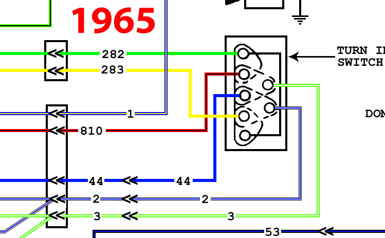 Slick 60's • View topic - Differences in turn signal switch wiring shown in  diagrams | Ford F100 Turn Signal Wiring Diagrams |  | Slick60s