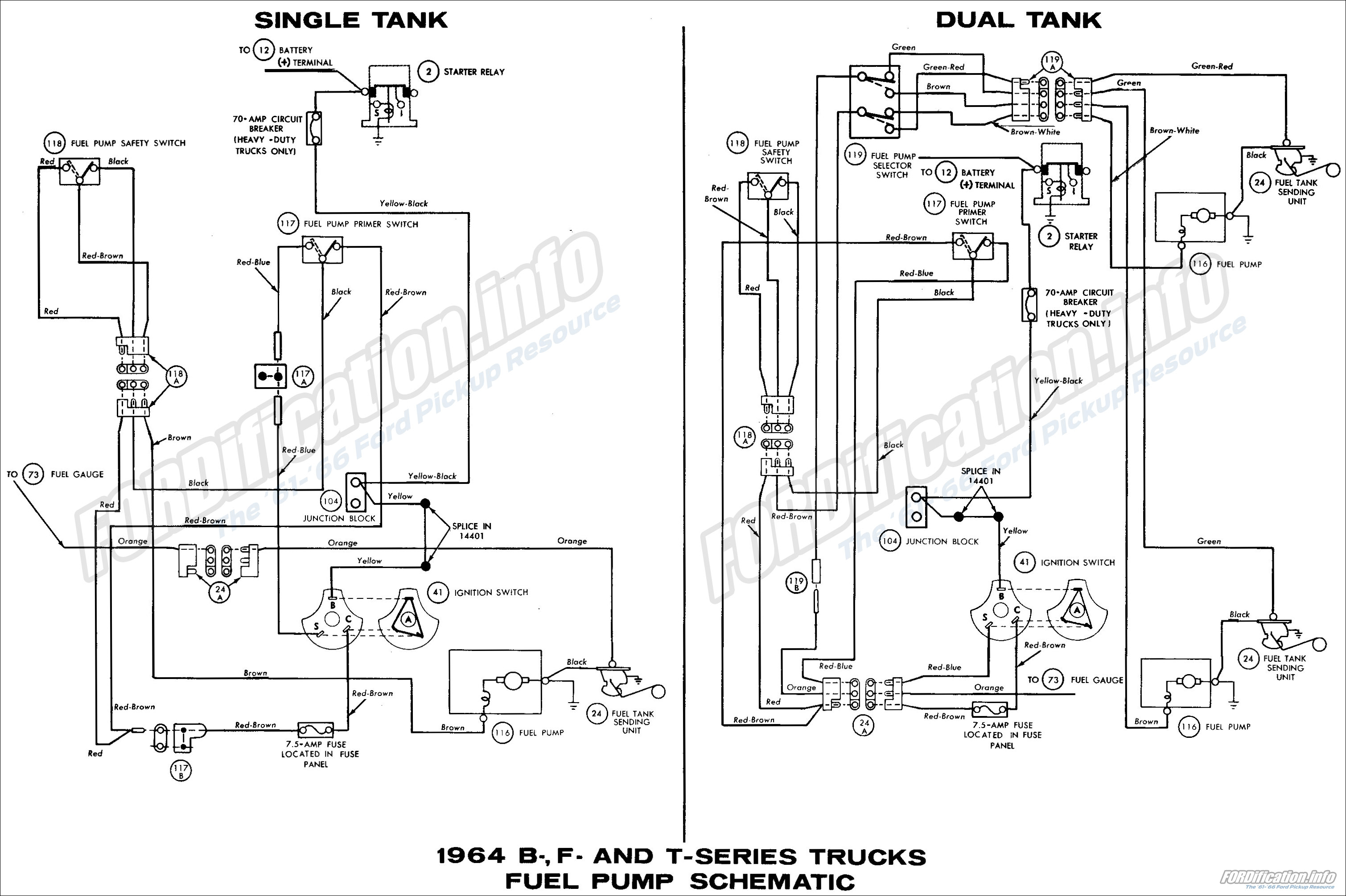 1964 Ford Ignition Switch Wiring Diagram Wire Data Schema Truck Diagrams Fordification Info The 61 66 Rh Coil