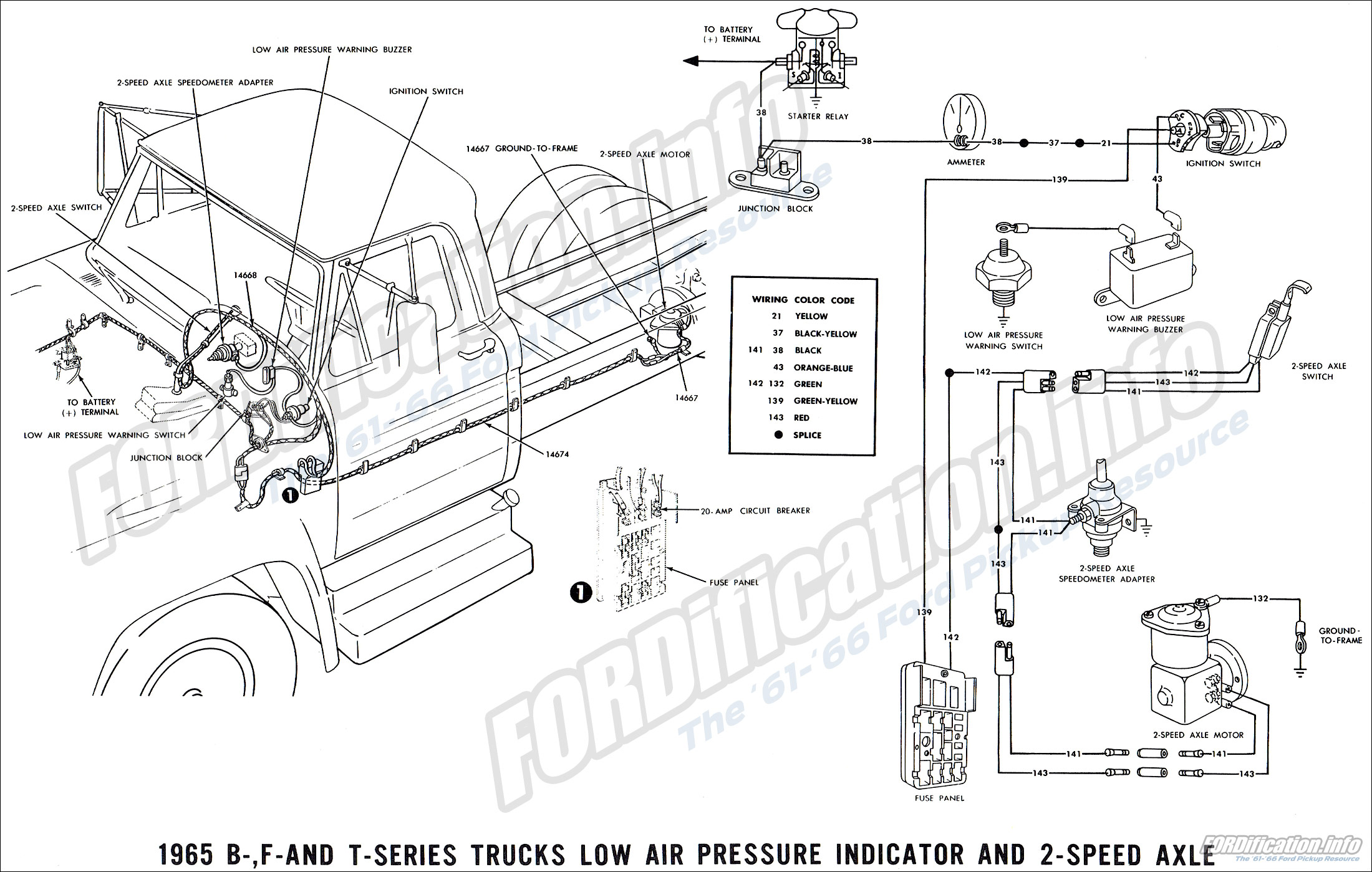 1965 Ford Truck Wiring Diagrams Fordification Info The 61 66 Ford Pickup Resource